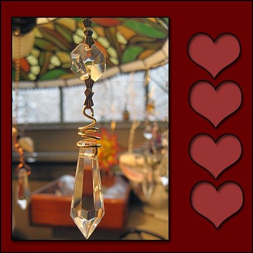 Chandelier Prism Sun Catcher - product images  of