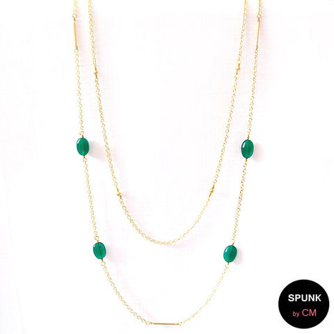Layered,Gold,Chain,Gemstone,Necklace,-,Onyx,Green,,The,Bohemian:,Double,Minimalist,Jewelry,gold_chain_necklace,emerald_green,layered_necklace,minimalist_necklace,boho_jewelry,beach_jewelry,gemstone_necklace,simple_jewelry,toronto_jewelry,green_stone_necklace,gold_onyx_necklace,green_jewelry,spunkbycm,gold plated,brass,dyed gree