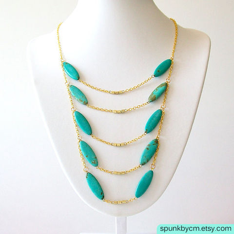 Layered,Gold,Chain,Gemstone,Necklace,-,Magnesite,Teal,,Turquoise,The,Bohemian:,Scorpion,Chest,Plate,Jewelry,gold_chain_necklace,turquoise_necklace,tribal_jewelry,turquoise_and_gold,chest_plate_necklace,turquoise_magnesite,scorpion_jewelry,brass_chain_necklace,layered_gold_chain,layered_necklace,bib_gold_chain,gypsy_gold_jewelry,bohemian_jewelry