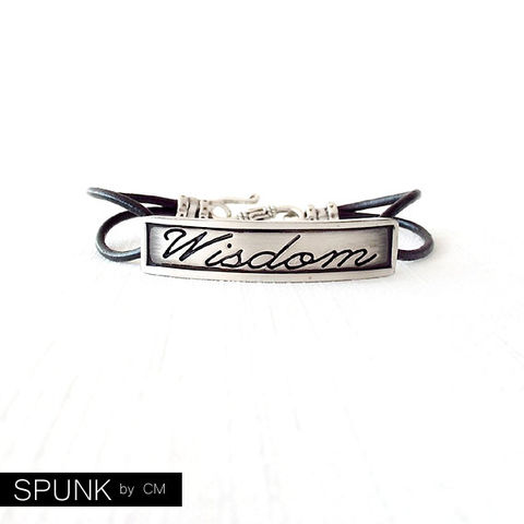 Round,Leather,Bracelet,-,Affirmation,Word,Silver,,Black,The,Basics:,2mm,Double,Strand,Wisdom,Jewelry,jewelry_for_men,couples_bracelets,couples_jewelry,leather_anniversary,promise_jewelry,wedding_favors,leather_bracelet,jewelry_for_teens,personalized_jewelry,engraved_bracelet,affirmation_bracelet,wisdom_bracelet,black_friday,genuine leath