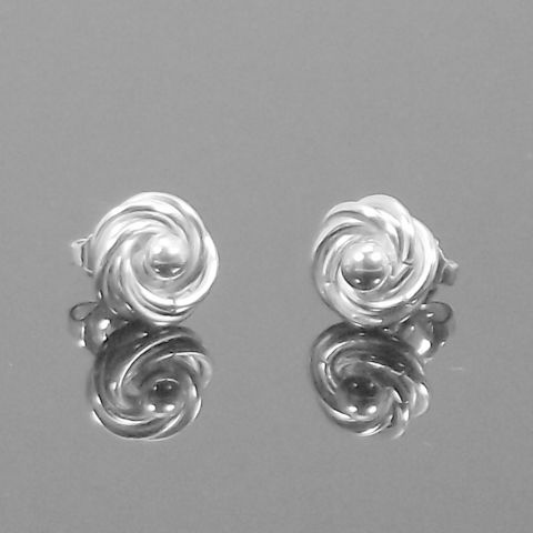 Handmade,'silver,pearl',stud,earrings,silver stud earrings, silver pearl, norbert abel, west cork crafts