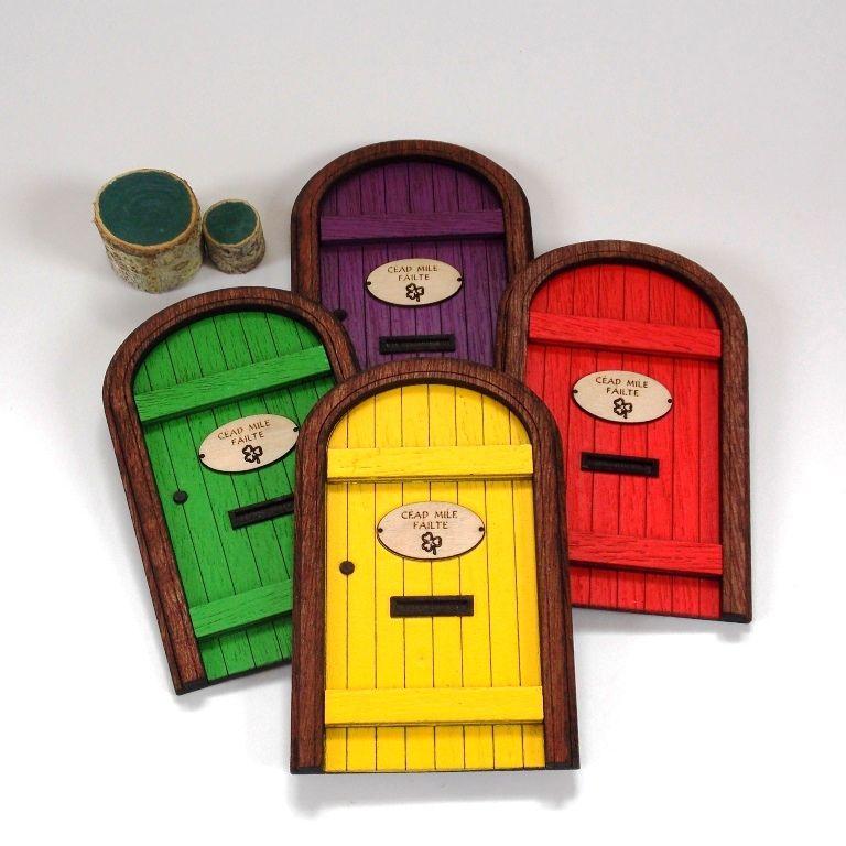 Irish Leprechaun Doors  sc 1 st  West Cork Crafts & Irish Leprechaun Doors - West Cork Crafts