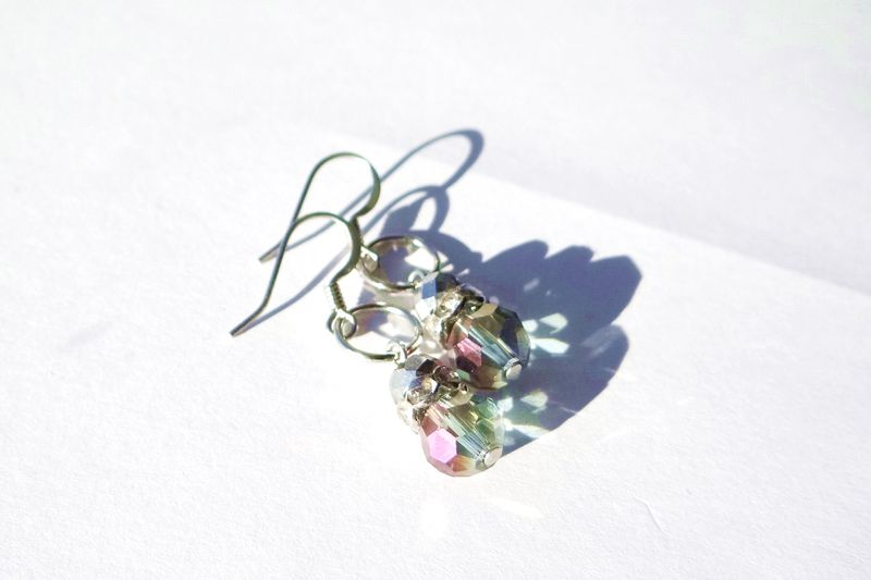Gray Dangle Earrings - product images  of