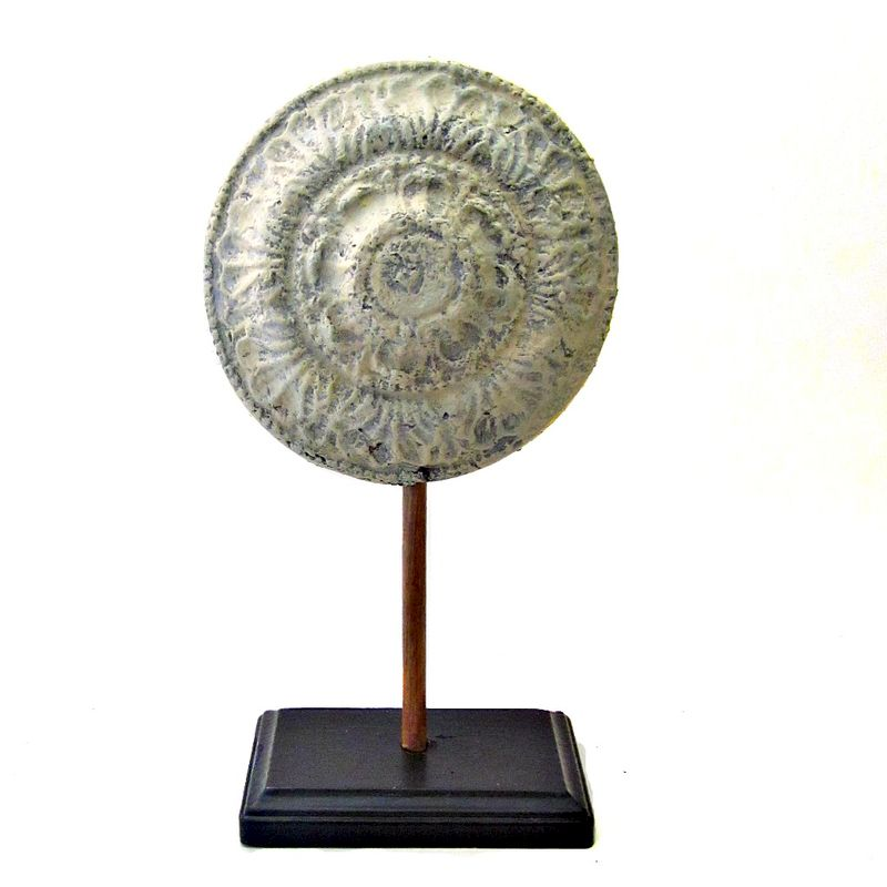 Paper Mache Filigree Sculptures on Stands - product images  of