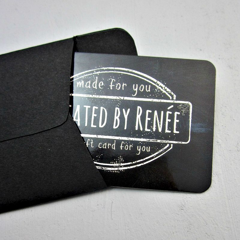 Chalkboard Gift Card - product images  of