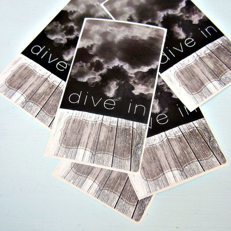 Art Bookplate ID Labels Featuring Original Photo Art: Reflections - product images  of