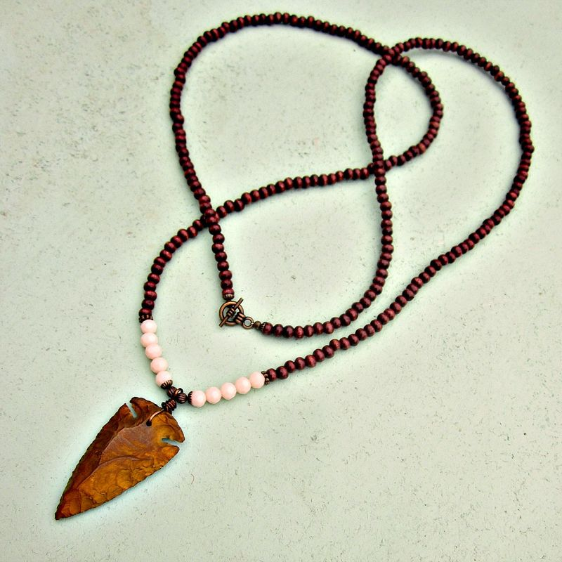 natural shopping pendant cheap on line guides quotations deals tribal brown snake necklace find carved wood wooden get