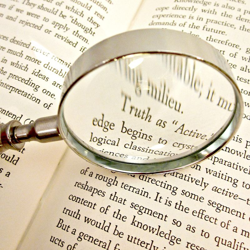 Magnifying Glass with Handmade Paper Bead Handle of Recycled Paper: Digby - product images  of