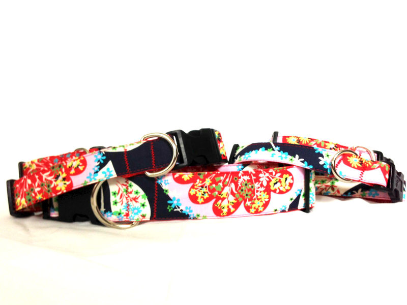 "The Preppy ""Martini Mustard"" Dog Collar - product images  of"