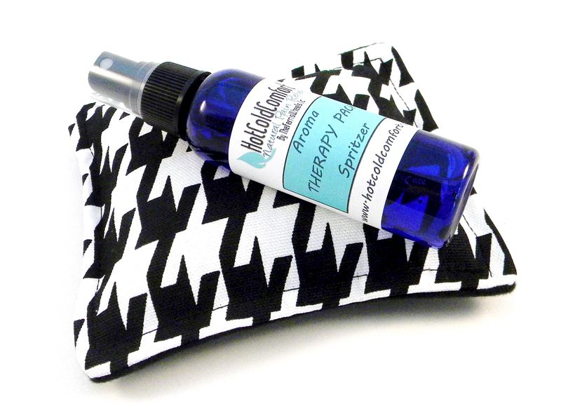 Dream Pillow with Aromatherapy Sleep Mist, Hot Cold Sleep Pillow Sachet - product images  of