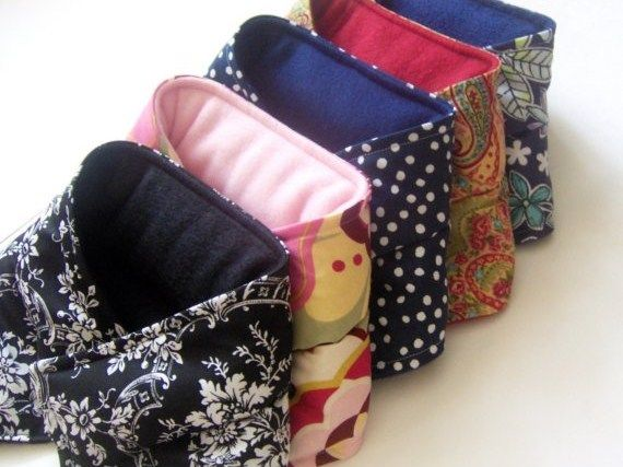 Five Microwave Neck Wraps, Bulk Wholesale Heating Pads, Heat Packs for Gifts, Resale - product images  of