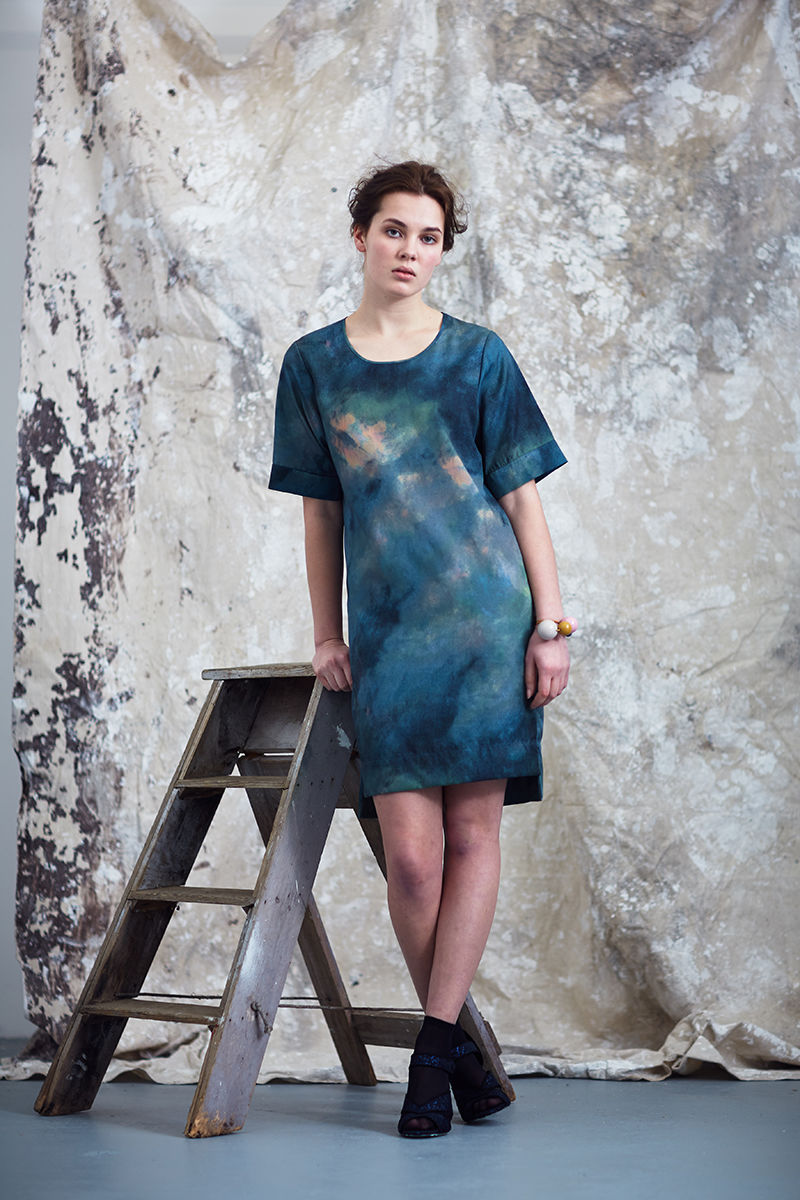 Summer Breeze Abstract Shift Dress  - product images  of