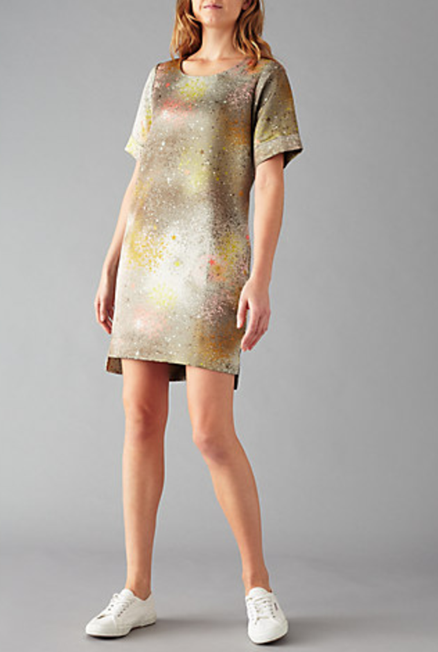 Rae of Light print Dress - Inspired by the artwork of Fiona Rae - product images  of