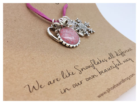 For,someone,special.,friend, necklace, personalised, special, card, sentiment, charms