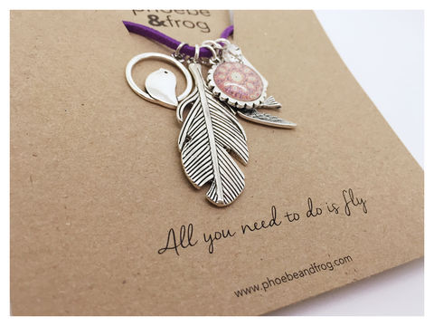 For,a,someone,special.,special, necklace, personalised, special, card, sentiment, charms, friends