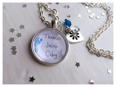 Little,Feet,Pendant,Family, love, pendant, personalised, baby, babies