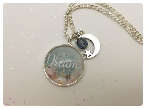 Dream,Pendant,necklace, pendant, modern, colourful, cabochon, dream