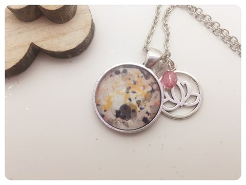 Water,Colours,Pendant,necklace, pendant, modern, colourful, cabochon, water colours