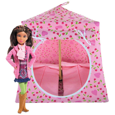 Light,pink,Toy,Play,Pop,Up,Tent,,2,Sleeping,Bags,,flower,&,heart,print,fabric,toy play pop up tent,fabric toy tents,kids play tents,light pink fabric tent,flower and heart print tent,girls toys,Liv doll tent,doll camping tent,Barbie house,gift for child,light pink sleeping bags,handmade play tent,toytentsandchairs