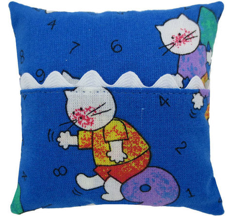Tooth,Fairy,Pillow,,blue,,kitty,print,fabric,,white,ric,rac,trim,for,girls,blue tooth fairy pillow,fabric tooth fairy pillows,tooth fairy,tooth fairy pillows,kitty print fabric pillow,unique gift for girls,pillow for stuffed animals,pillow with pocket,pillow tooth fairy,tooth pillow,toy pillow,child gift,white ric rac trim,handm