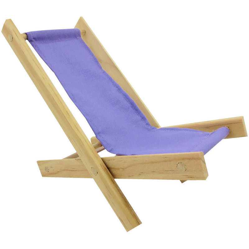 Toy Wood Beach Folding Chair, Lavender Fabric   Product Images Of