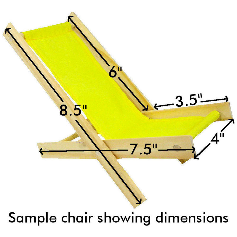 wooden lawn chair dimensions 1