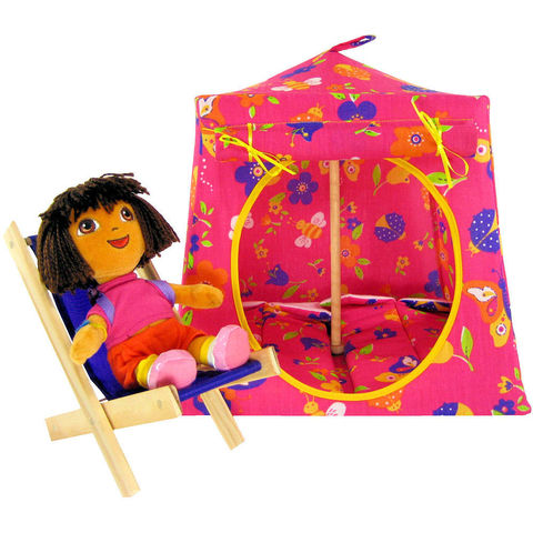 Pink,Toy,Play,Pop,Up,Tent,,2,Sleeping,Bags,,flower,&,butterfly,print,fabric,toy play pop up tent,fabric toy tents,kids play tents,pink fabric tent,flower print tent,girls toy,Dora tent,butterfly print tent,tent for dolls,play camping tent,sleeping bags,handmade doll tent,toytentsandchairs