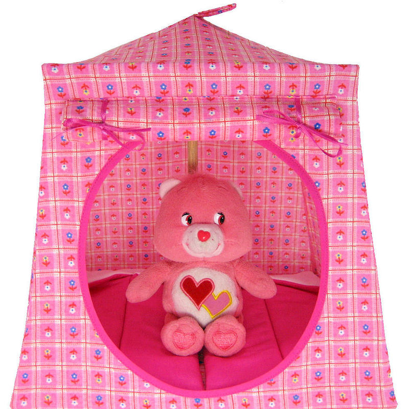 Light pink Toy Play Pop Up Tent 2 Sleeping Bags small flower print fabric - Toy Tents And Chairs  sc 1 st  Toy Tents And Chairs & Light pink Toy Play Pop Up Tent 2 Sleeping Bags small flower ...