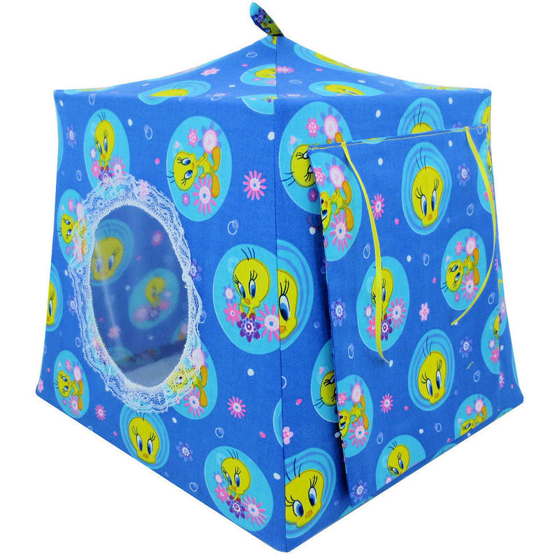 Blue Toy Play Pop Up Tent 2 Sleeping Bags Tweety Bird print fabric -  sc 1 st  Toy Tents And Chairs & Blue Toy Play Pop Up Tent 2 Sleeping Bags Tweety Bird print ...