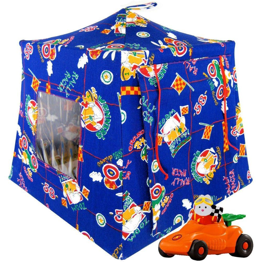 BlueToyPlayPopUpTent2sleeping  sc 1 st  Toy Tents And Chairs & Sport print toy pop up tents for boys or girls Collection - Toy ...