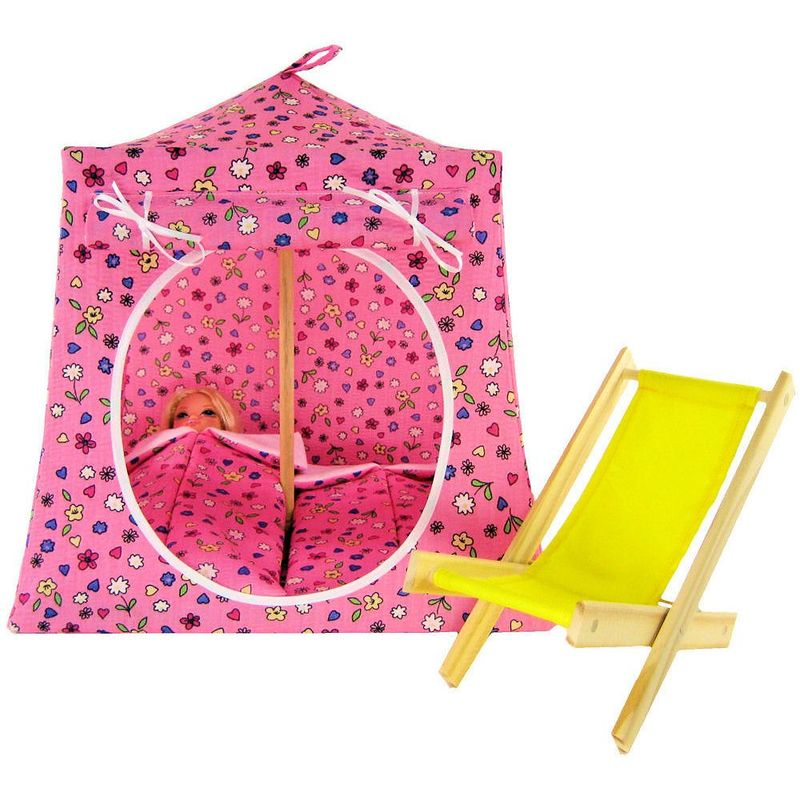 ... Pink Toy Play Pop Up Tent 2 Sleeping Bags heart u0026&; flower print ...  sc 1 st  Toy Tents And Chairs Toy pop up tents with sleeping bags wood toy ... & Pink Toy Play Pop Up Tent 2 Sleeping Bags heart u0026 flower print ...