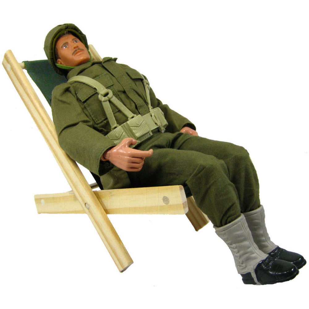 Wooden beach lounge chair - Toy Wood Beach Folding Chair Olive Green Fabric Toy Tents And Chairs