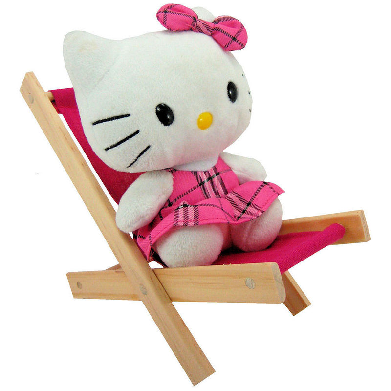 Toy Wood Doll Folding Chair, Dark Pink Fabric   Product Images Of