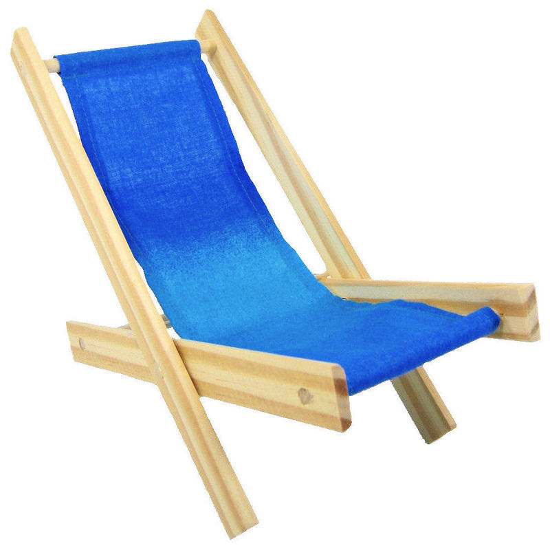 Beau ... Toy Wood Lawn Folding Chair, Shades Of Blue Fabric   Product Images ...