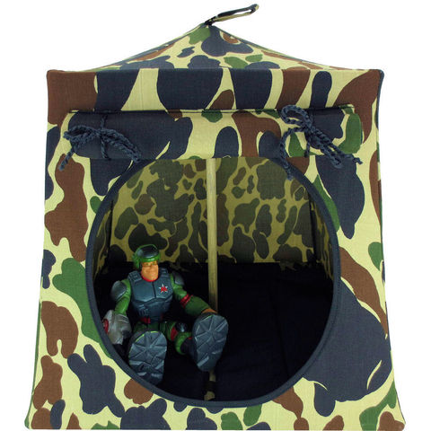 Green,,brown,,black,and,tan,camouflage,Toy,Play,Pop,Up,Tent,,2,Sleeping,Bags,toy play pop up tent, toy pop up tent, fabric toy tents, kids play tents, camo fabric tent, camouflage toy tent,toy for boys,Rescue Ranger tent,action figure tent, army play tent, GI Joe tent, black sleeping bags, handmade play tent, toytentsandchairs