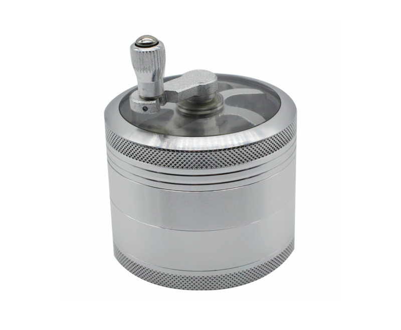 Heavy Duty Hand Crank Style Herb Grinder  - product images  of