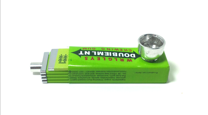 "Pack of Gum ""Doubiemlnt"" Tobacco Pipe  - product images  of"