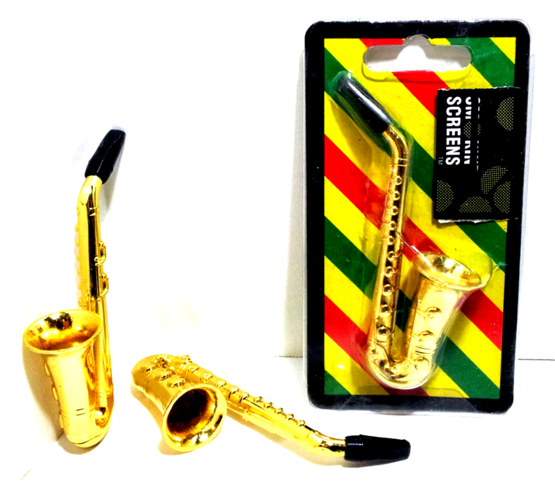 Miniature Saxophone Tobacco Pipe  - product images  of
