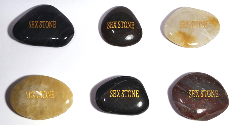 Genuine Sex Stone Gag Gift  - product images  of