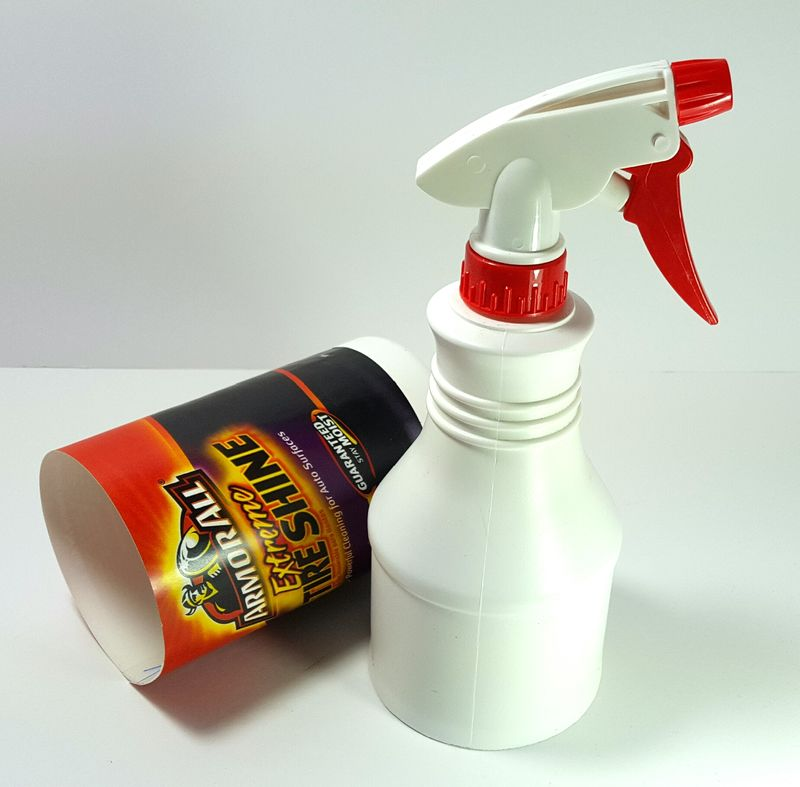 Extreme Tire Shine Spray Bottle Stash Can - product images  of