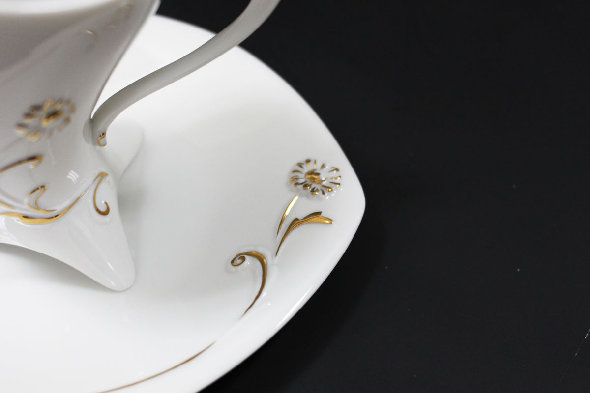 Flying Daisy (coffee cup & saucer)翔三角咖啡杯盤組 - product images  of