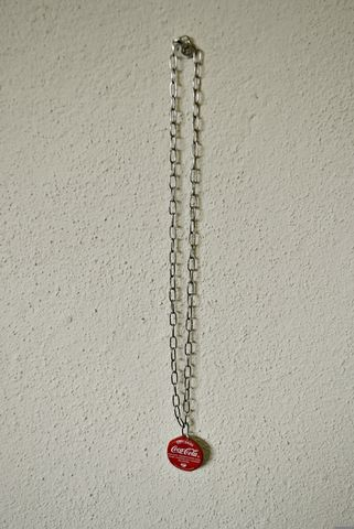 Bottle,Top,Pendant,-,Single,pendant, recycled, necklace, bottle top