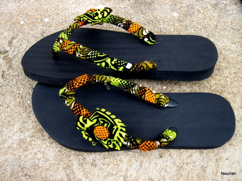 Capulana,sandals,thongs, sandals, shoes,