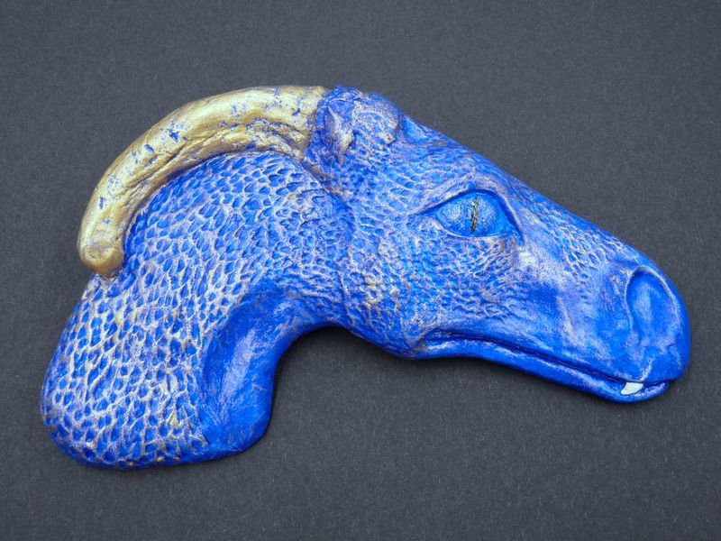 Dragon Head Wall Plaque - product image