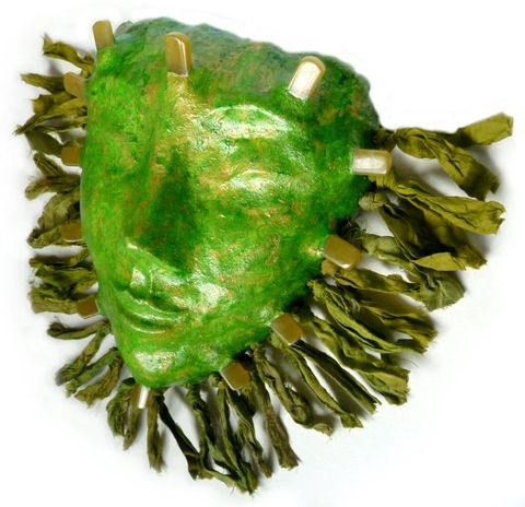 Jade,Goddess,wall,mask,jade goddess,jade mask,jade goddess mask,goddess mask,green goddess,goddess sculpture