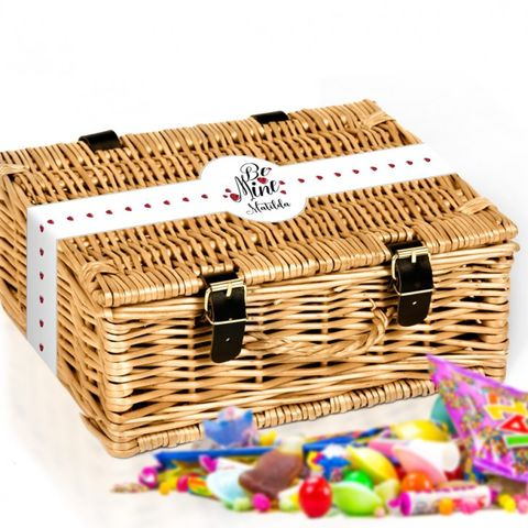 Be,Mine,Personalised,Sweet,Hamper,Be Mine, Personalised, Sweets, Hamper, unique, gifts, decor, www.uniquegiftsanddecor.co.uk