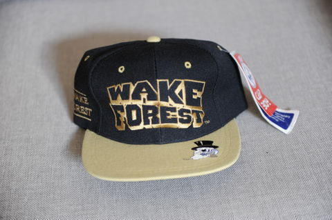 Wake,Forest,Demon,Deacons,Snapback,Hat,Vintage Snapbacks, Wake Forest, Demon Deacons