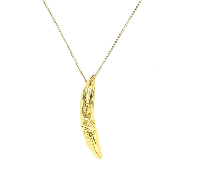 Knobbed Hornbill Pendant  - product images  of