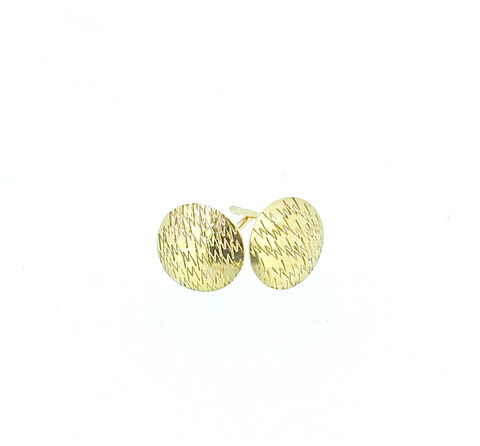 Punchstuds,9ct,9ct gold vintage inspired, 1950's inspired jewellery, personalised jewellery, personalised earrings