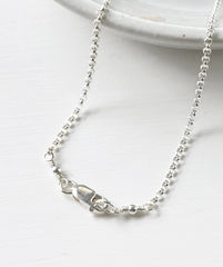 Memorial Necklace for Loss of Mom in Sterling Silver - product images 5 of 7